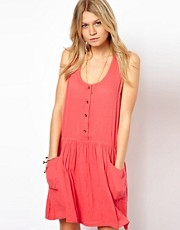 ASOS Pinafore Sundress With Pockets