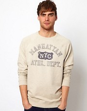 Jack &amp; Jones Sweat with Manhattan Print