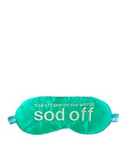 Anatomicals Nod Off &amp; Let The World Sod Off Silk Sleep Mask