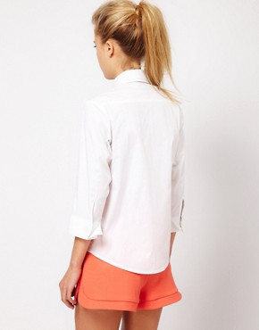 Image 2 ofASOS Shirt With Double Collar