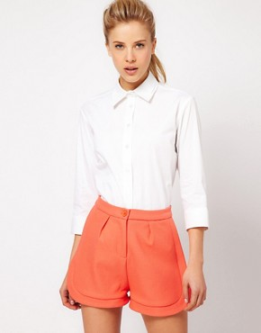 Image 1 ofASOS Shirt With Double Collar