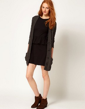 Image 4 ofAime by People Tree Organic Jersey Peplum Dress