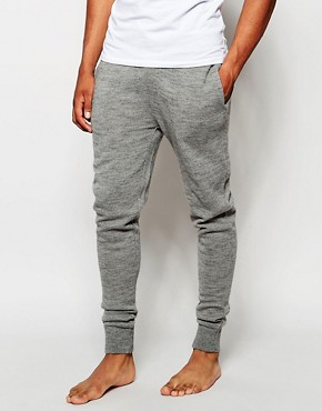 ASOS Loungewear Skinny Joggers In Knitted Fabric