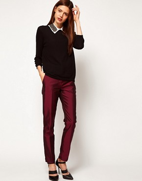 Image 1 ofASOS Premium Evening Trousers