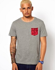 Puma T-Shirt with Digital Camo Pocket