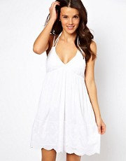 French Connection Amalfi Cutwork Beach Dress