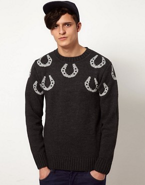 Image 1 ofCommon Sons Jumper with Hoof Print