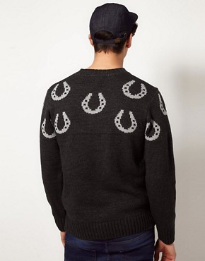Image 2 ofCommon Sons Jumper with Hoof Print
