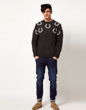 Image 4 ofCommon Sons Jumper with Hoof Print