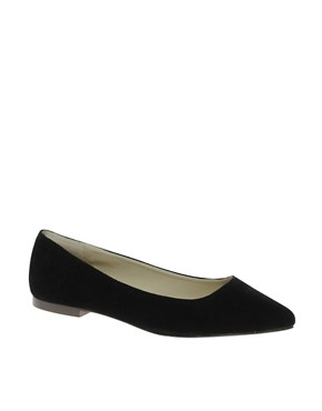 Image 1 ofASOS LASSOO Sharp Point Ballet Flats