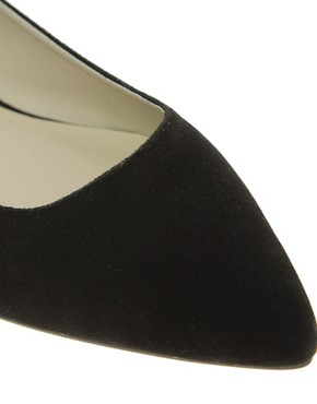 Image 2 ofASOS LASSOO Sharp Point Ballet Flats