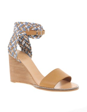 Image 1 of See By Chloe Braided Wedge Sandal