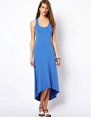 Splendid Maxi Dress With Dipped Hem