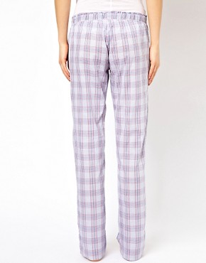 Image 2 ofEsprit Glencheck PJ Pants