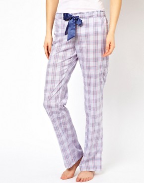 Image 4 ofEsprit Glencheck PJ Pants