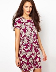 River Island Floral Print Smock Dress