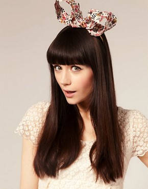 Image 1 ofPearl &amp; Ivy Liberty Print Ears Alice Band