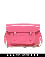 Cambridge Satchel Company  Exklusiv bei ASOS  14 Zoll groe Ledersatchel