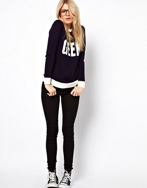 Image 4 ofASOS Geek Jumper