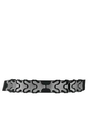 Image 1 ofOasis Silver Link Waist Belt