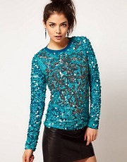 ASOS Jumper with Baroque Embellishment