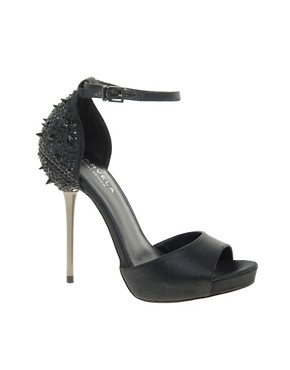 Image 1 ofCarvela Grenade Studded Back Peep Toe Shoes