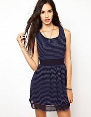 Wal G Stripe Dress