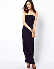 Warehouse Maxi Dress With Bandeau Top