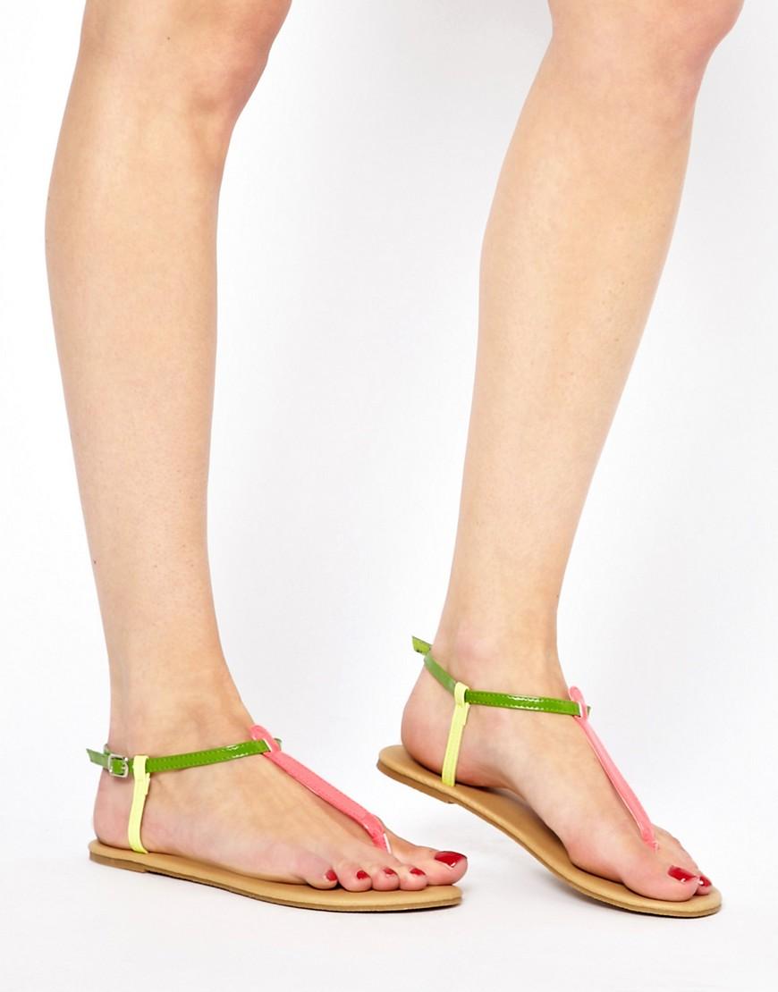 Image 3 ofASOS FACT IS Flat Sandals