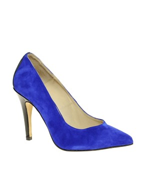 Image 1 ofGanni Exclusive Katie Contrast Court Shoes