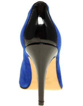 Image 2 ofGanni Exclusive Katie Contrast Court Shoes