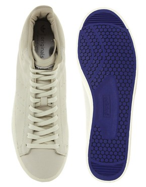 Image 3 ofAdidas Blue Match Play Mid Trainers