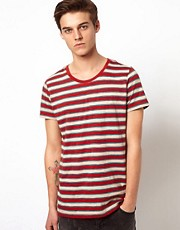 Suit T-Shirt With Vintage Stripe