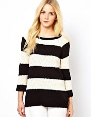 Oasis Slubby Stripe Jumper