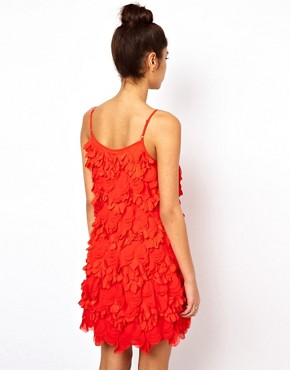 Image 2 ofASOS Mini Dress With Laser Cut Flowers