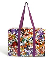 Bolso shopper con diseo de flores silvestres de Blue Q