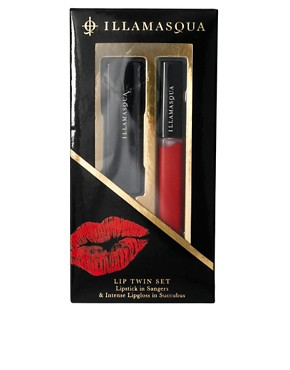 Image 2 ofIllamasqua Lip Twin Set - Sangers &amp; Succubus SAVE 16%