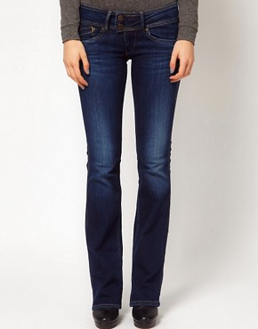 Image 1 ofPepe Jeans Pimlico Flared Jeans