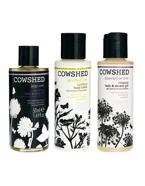 Image 2 ofCowshed Limited Edition Mixed Trio Set SAVE 88%