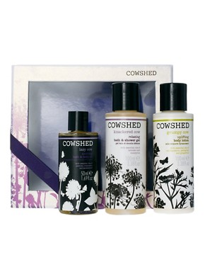 Image 1 ofCowshed Limited Edition Mixed Trio Set SAVE 88%