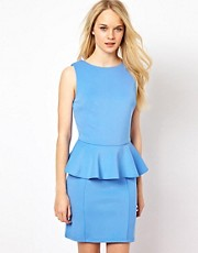 Glamorous Peplum Dress