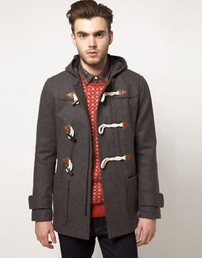 Image 1 ofASOS Duffle Coat