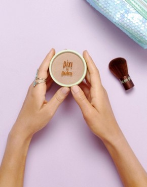 Image 2 ofPixi Beauty Bronzer + Kabuki