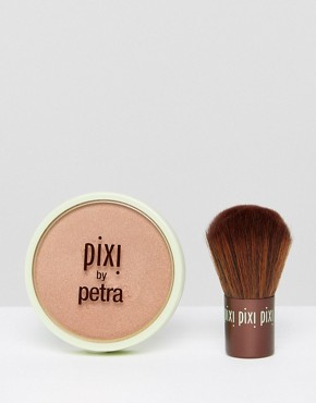 Image 1 ofPixi Beauty Bronzer + Kabuki