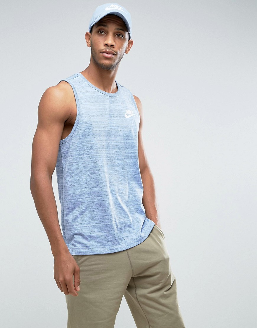 Nike Advanced Knit Vest In Blue 882153-450 - Blue