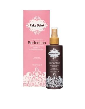 Image 1 ofFakeBake Perfection Instant Tan Spritz &amp; Professional Mitt 170ml