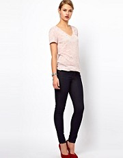 J Brand 811 Mid Rise Ankle Skinny Jeans