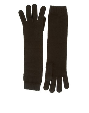 Image 1 ofJohnstons Cashmere Long Gloves