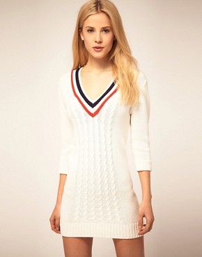 Bild 1 von ASOS  Cricket-Pulloverkleid