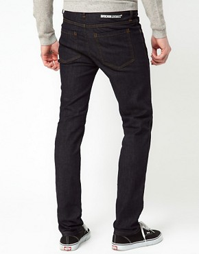 Image 2 ofDr Denim Snap Skinny Jeans